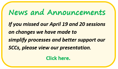 News and Annoucements-April 2016 Presentation.PNG