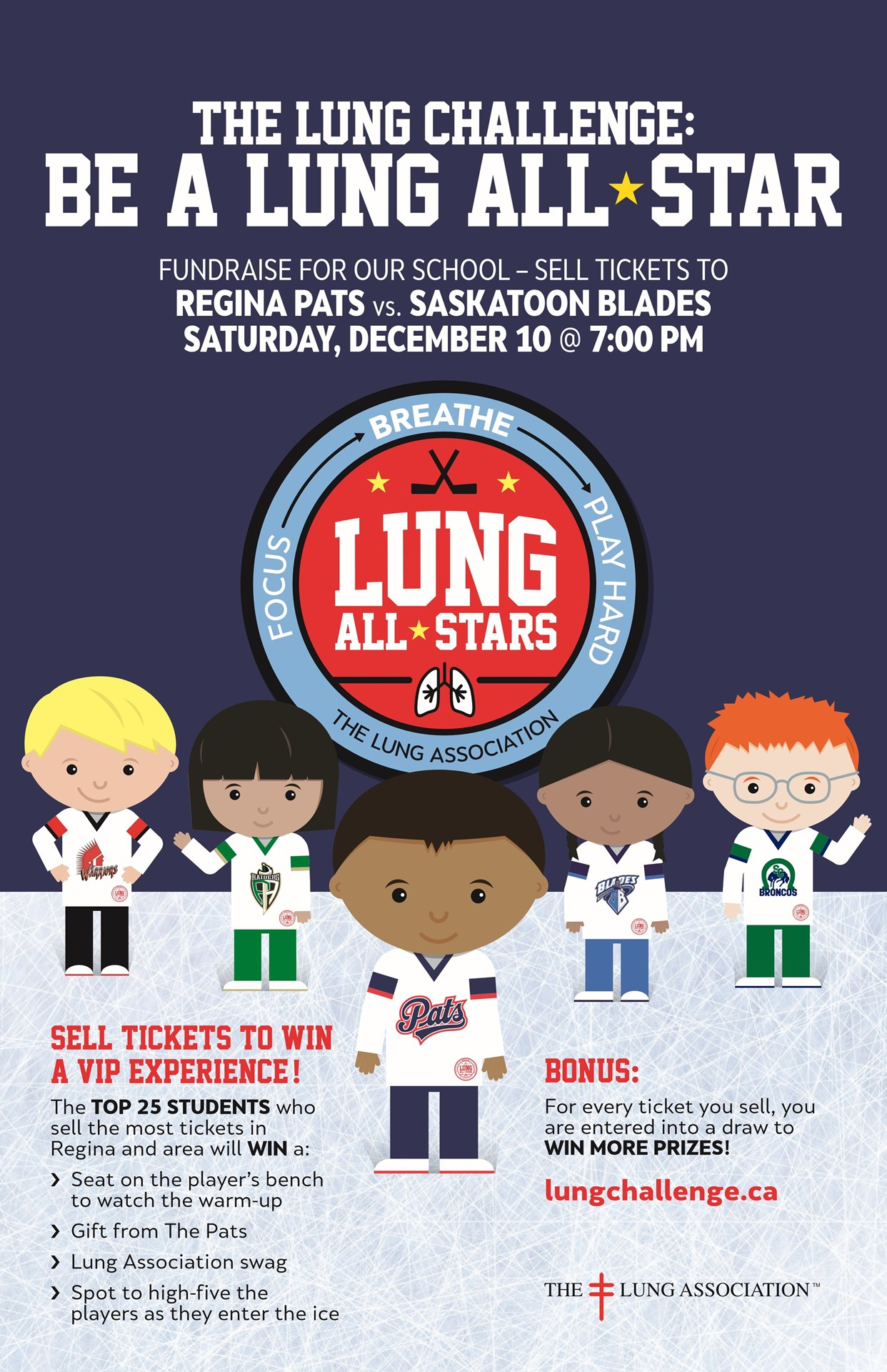 Let's Get Our Lungs Ready for our Regina Pats!