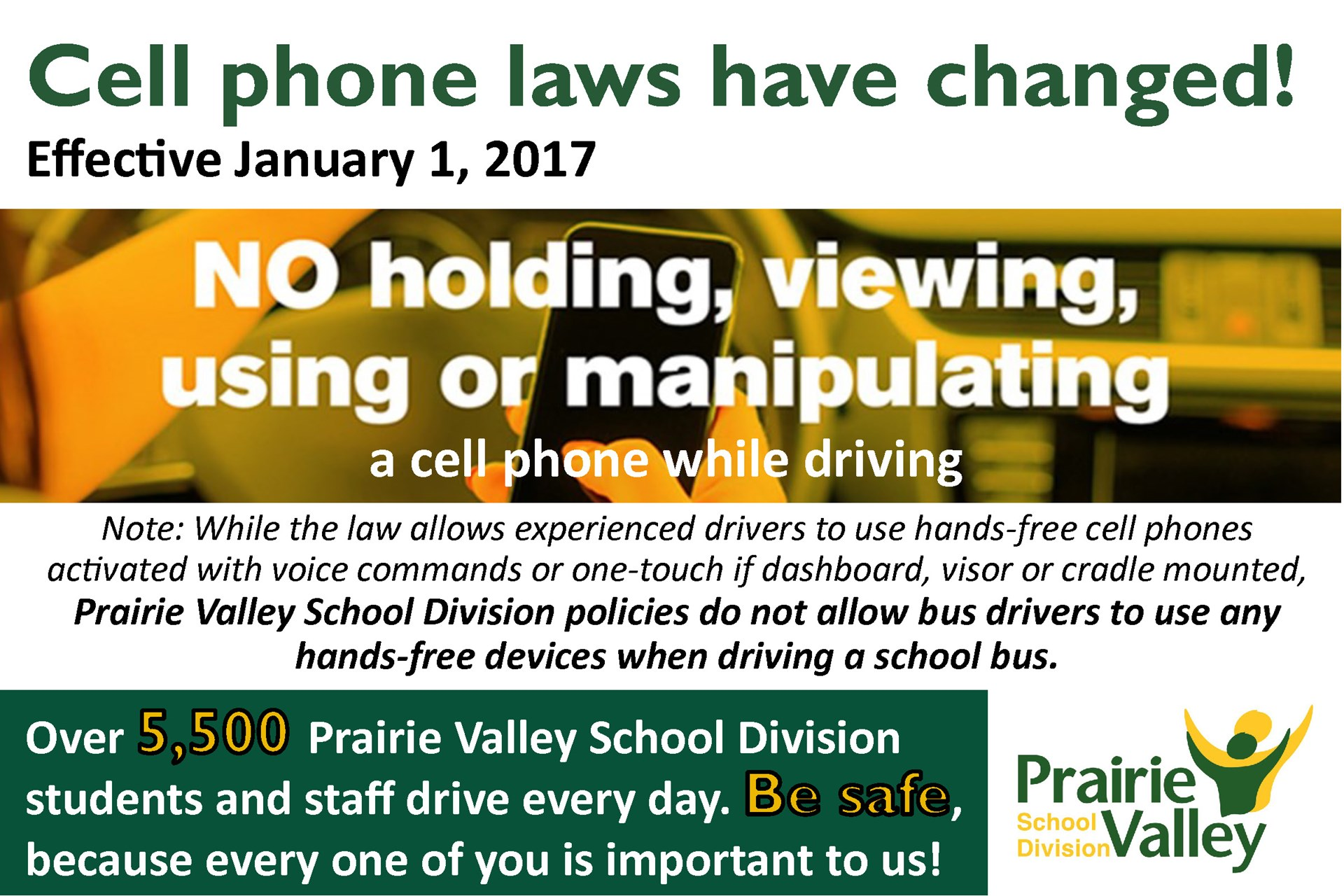 Reminder: Cell Phone Laws