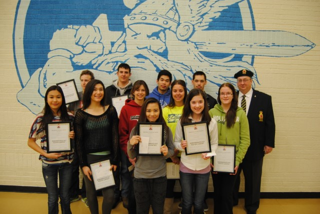 Legion Remembrance Essay and Poster Local Winners