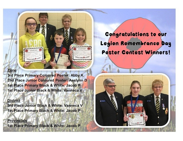 Remembrance Day Poster Winners