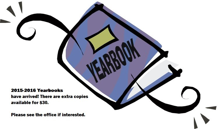 2015-2016 Yearbooks Still Available