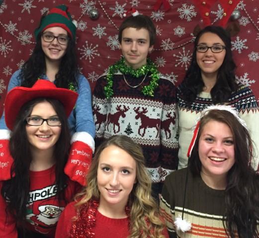 Holiday Spirit at NVHS