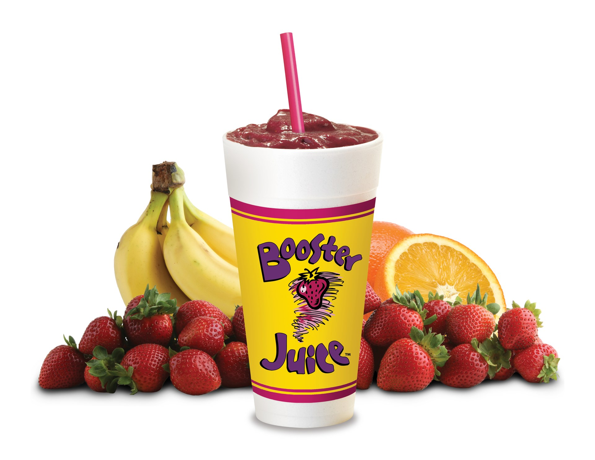 Booster Juice!